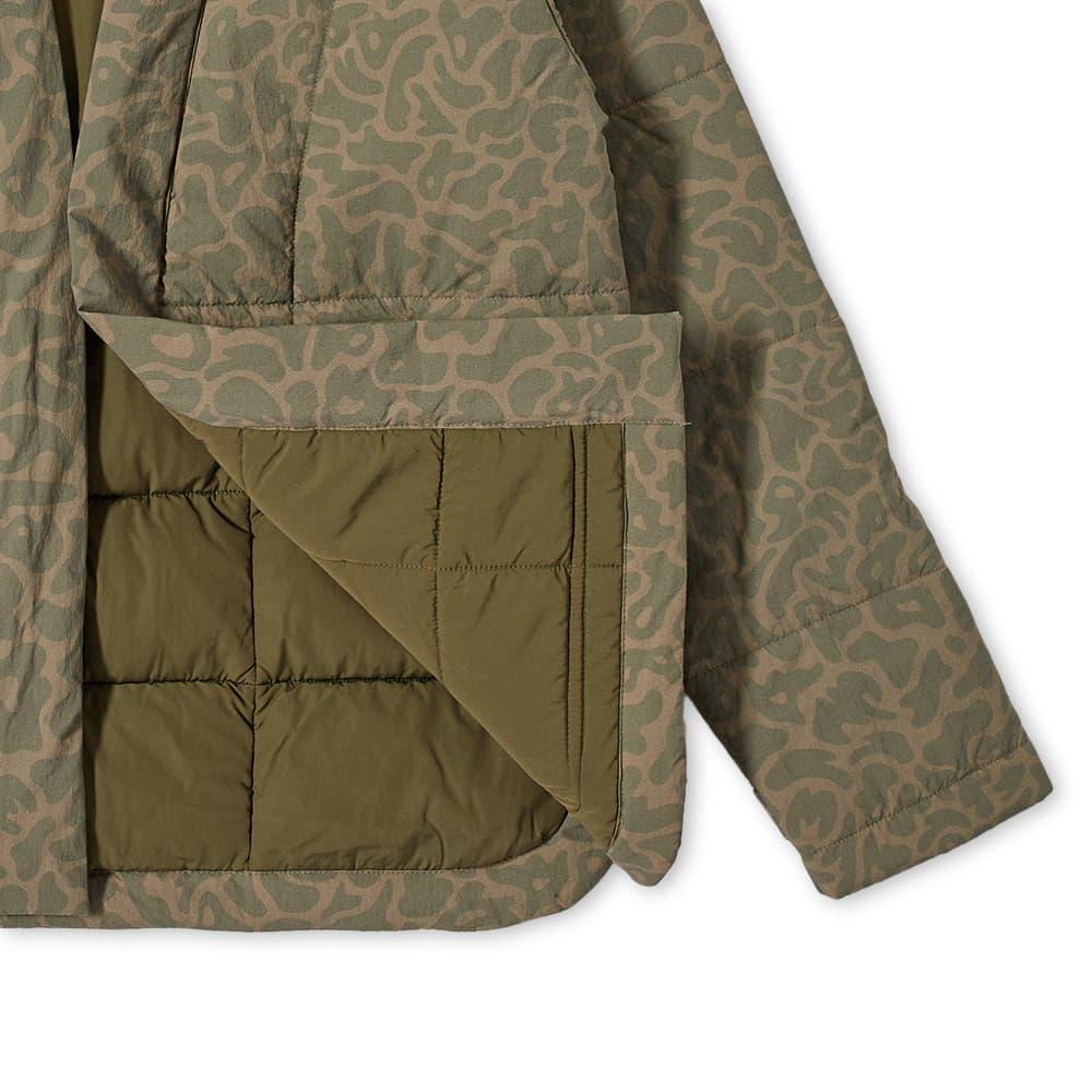 Maharishi Camo DPM Tech Padded Kimono Jacket - Woodland Dpm