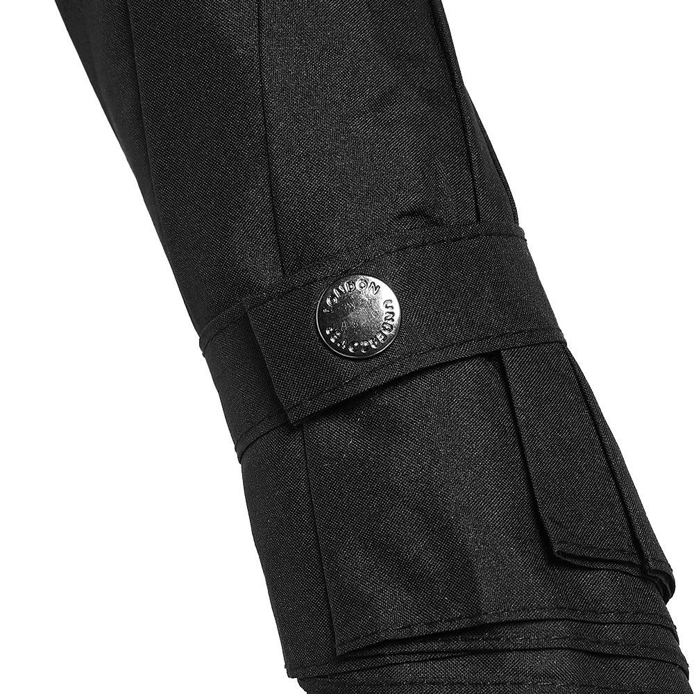 London Undercover Auto-Compact Umbrella - Black & Neon