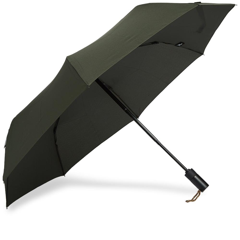 London Undercover Auto-Compact Umbrella - Olive