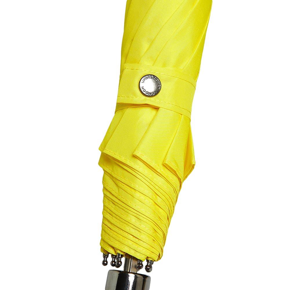 London Undercover Whangee Telescopic Umbrella - Yellow
