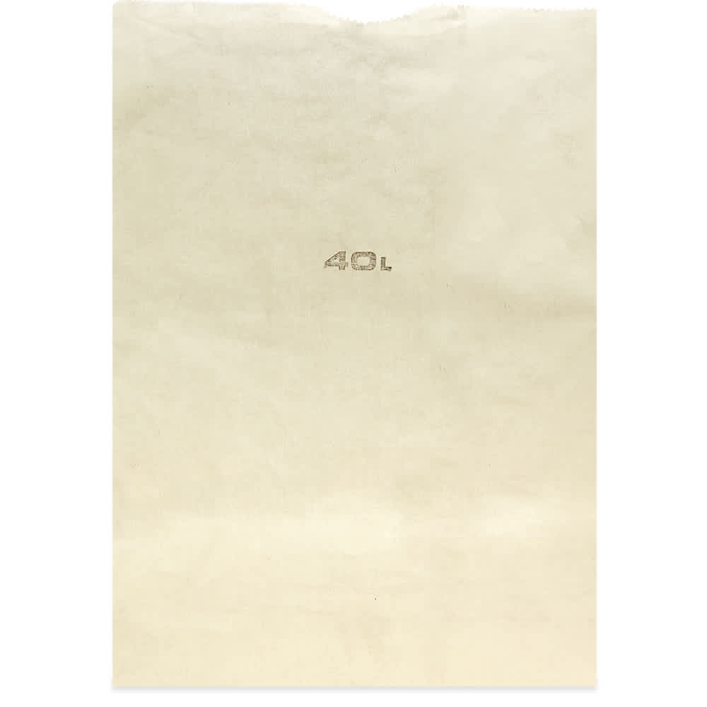 Puebco Cotton Grocery Bag - 40L - White