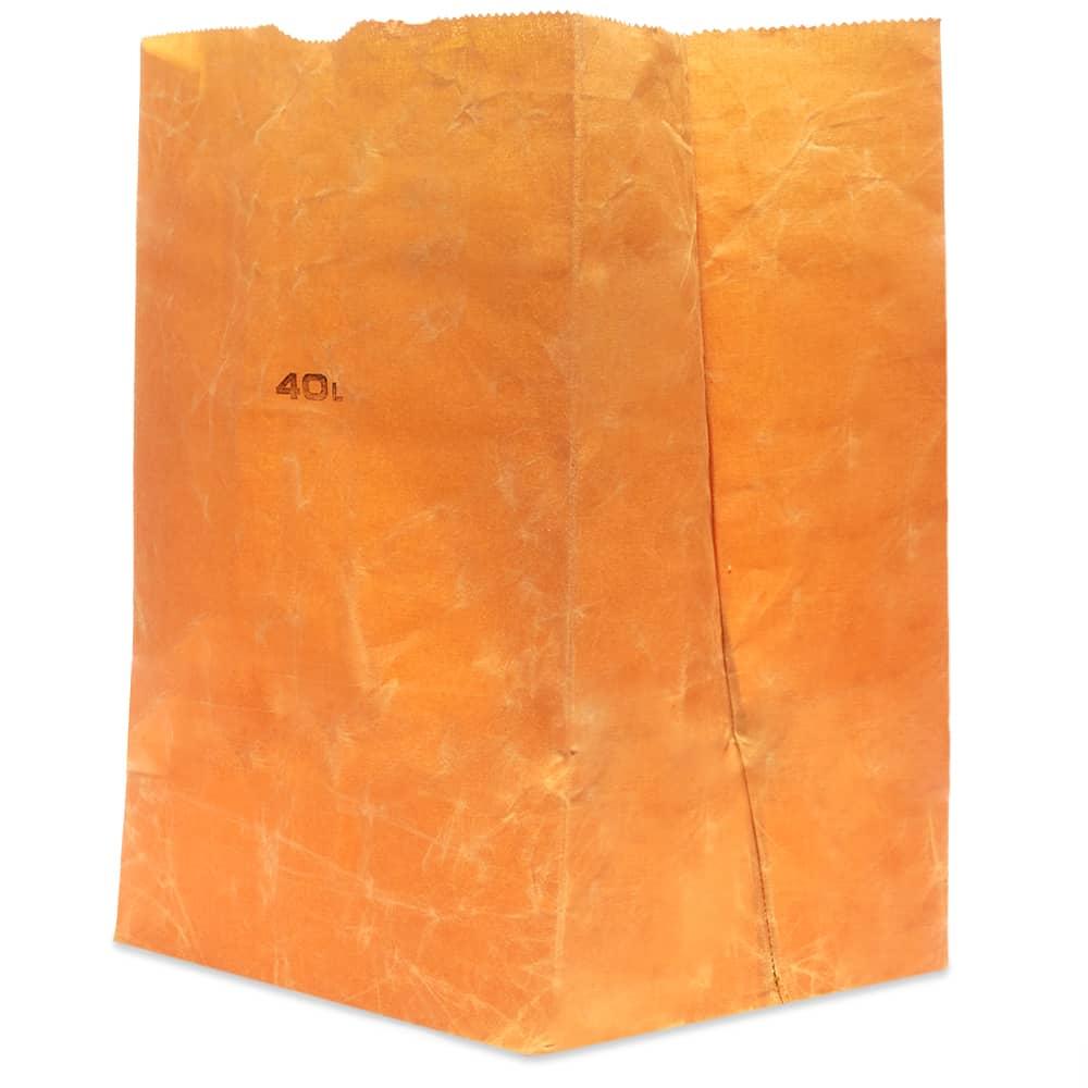 Puebco Cotton Grocery Bag - 40L - Brown