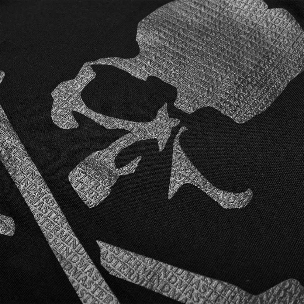 MASTERMIND WORLD Monogram Foam Print Popover Hoody - Black