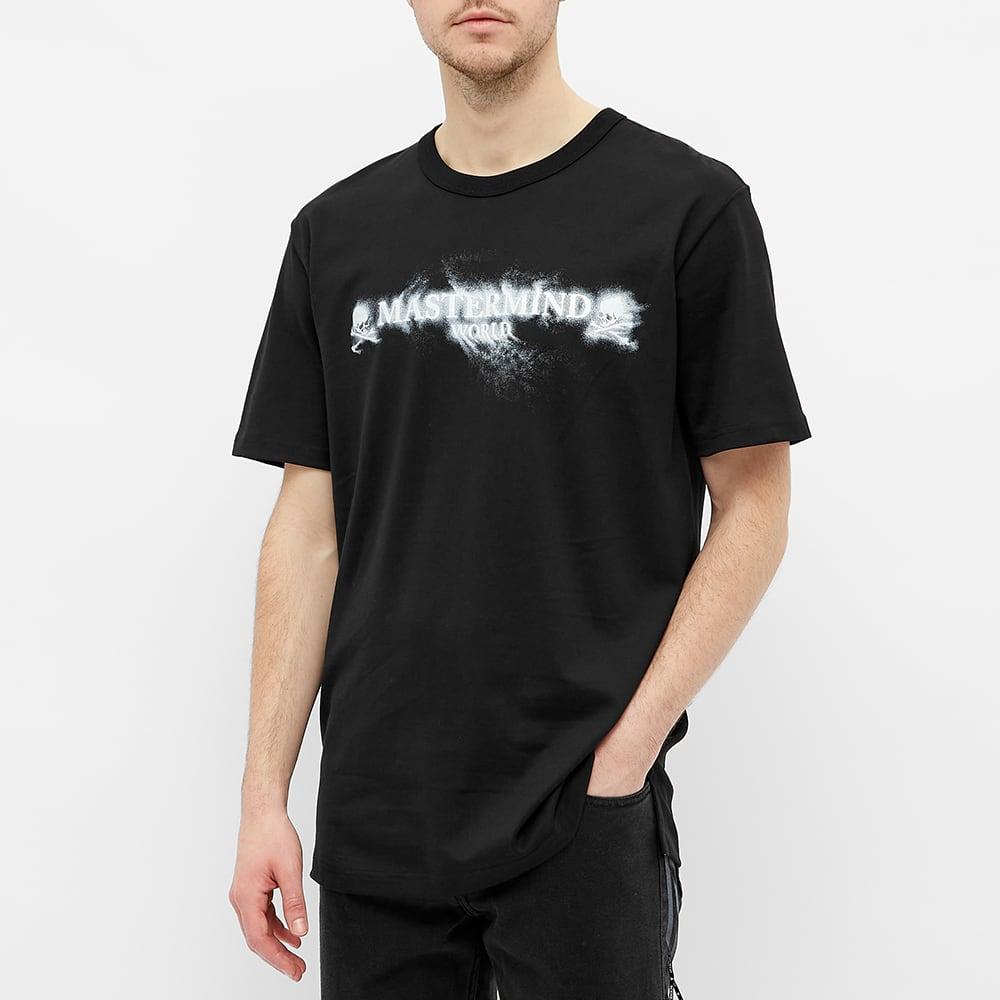 MASTERMIND WORLD Sand Logo Tee - Black