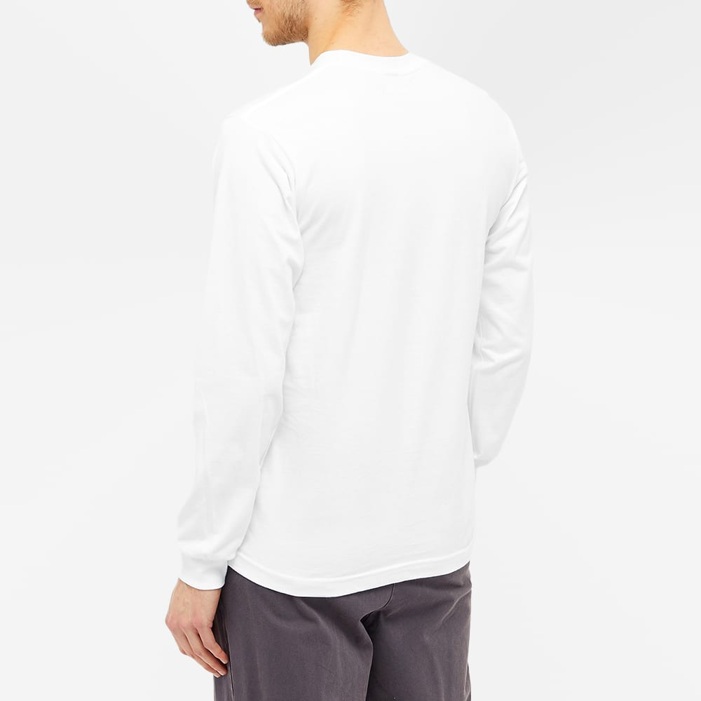 Know Wave Long Sleeve Classic Spread Tee - White