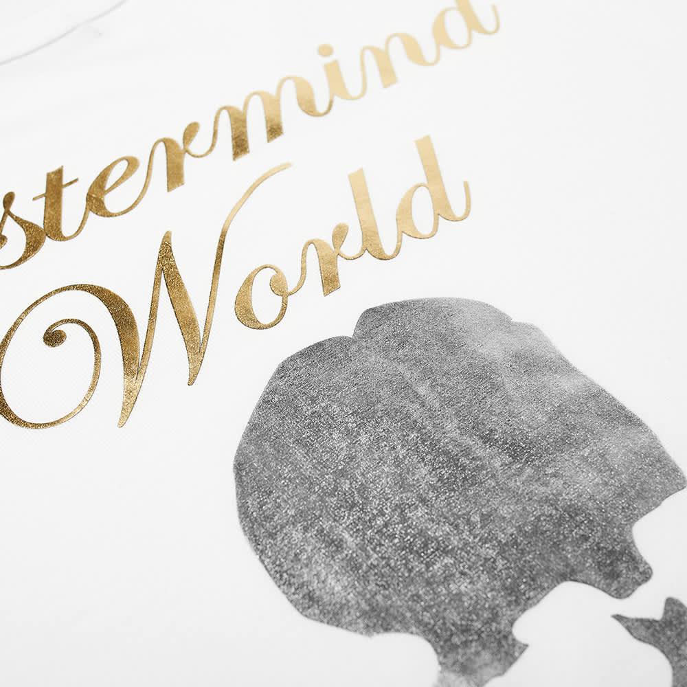 MASTERMIND WORLD Cursive Logo Tee - White