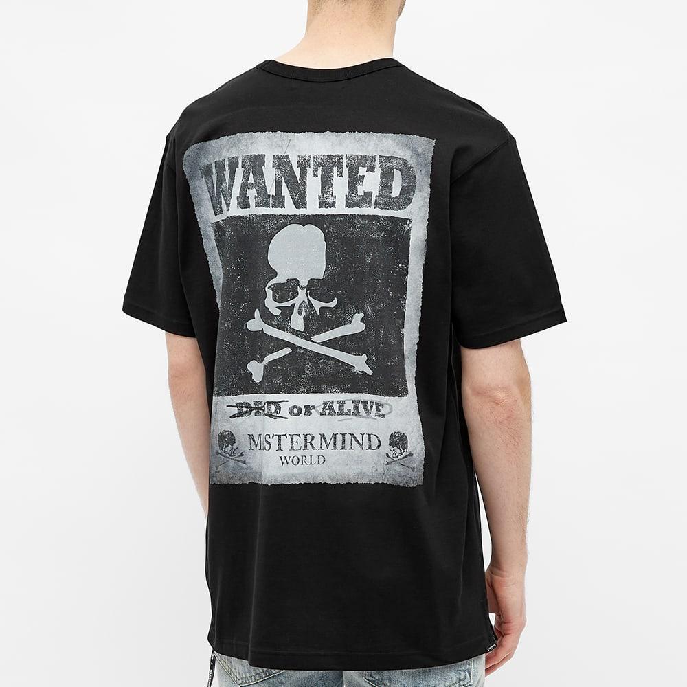 MASTERMIND WORLD Wanted Skull Tee - Black