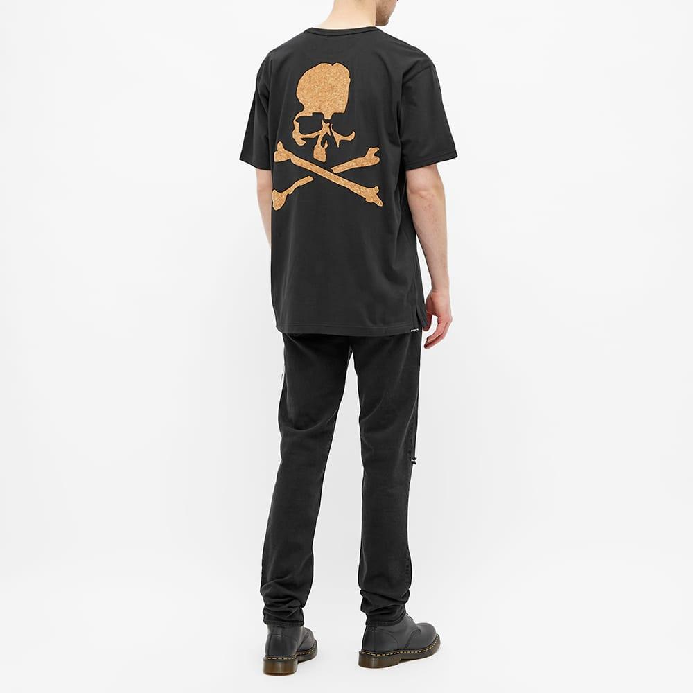 MASTERMIND WORLD Cork Logo Skull Tee - Black