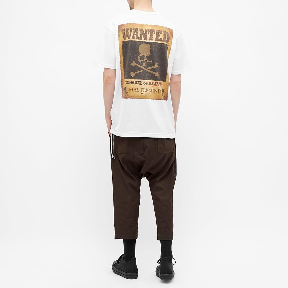 MASTERMIND WORLD Wanted Skull Tee - White