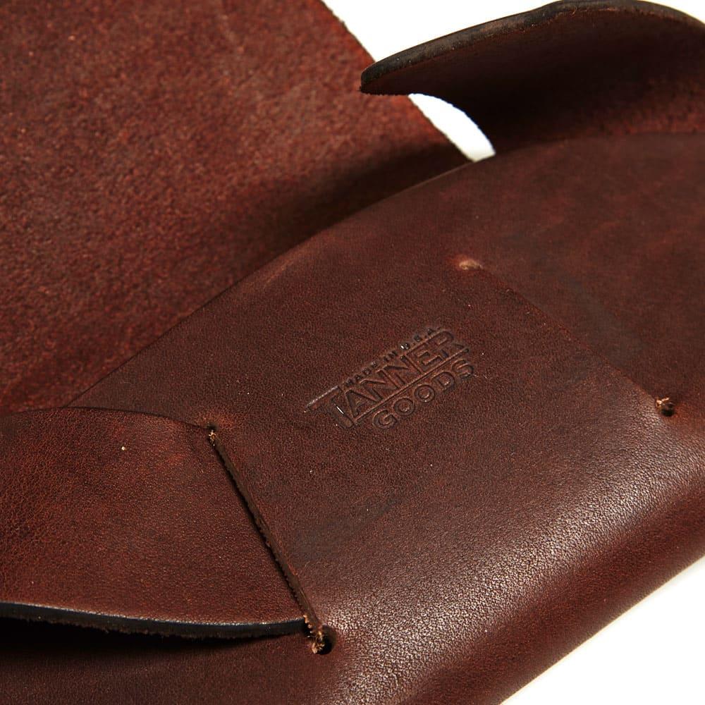 Tanner Goods Sunglass Case - Dark Oak