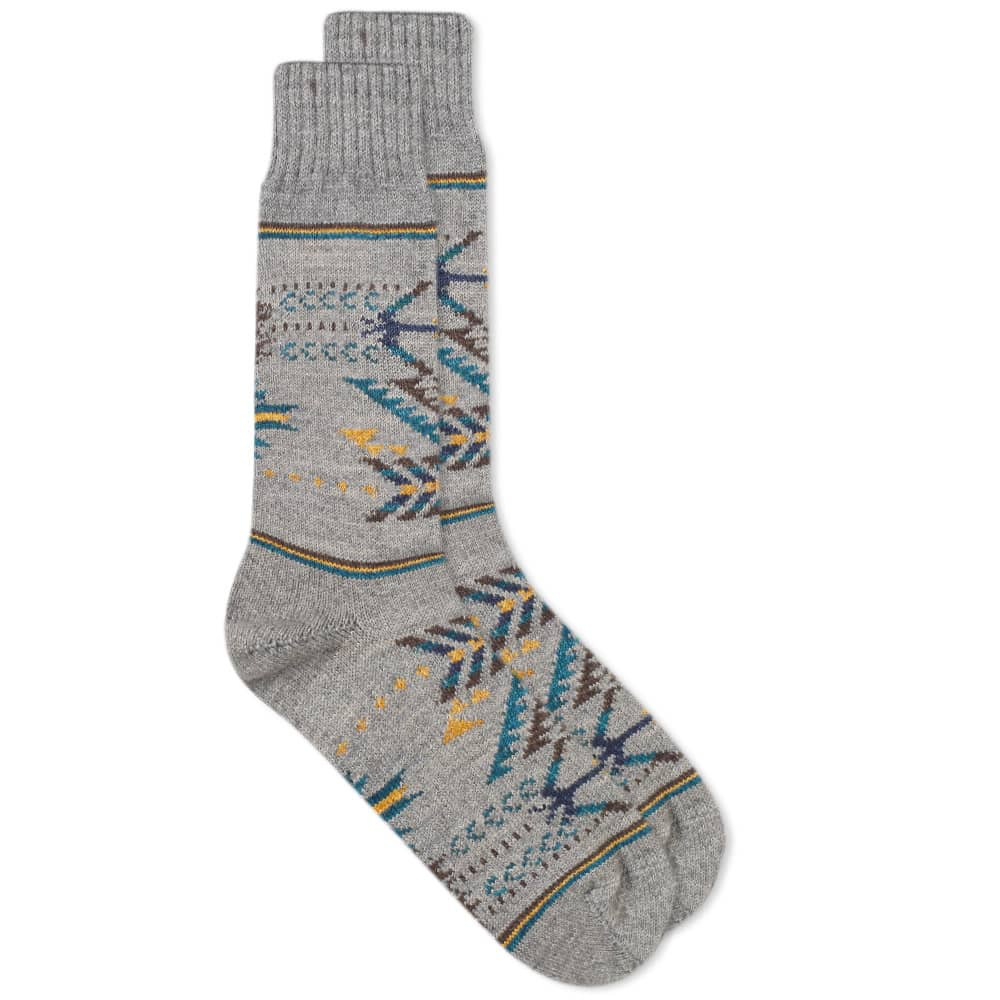 Chup Q'OA Sock - Flint