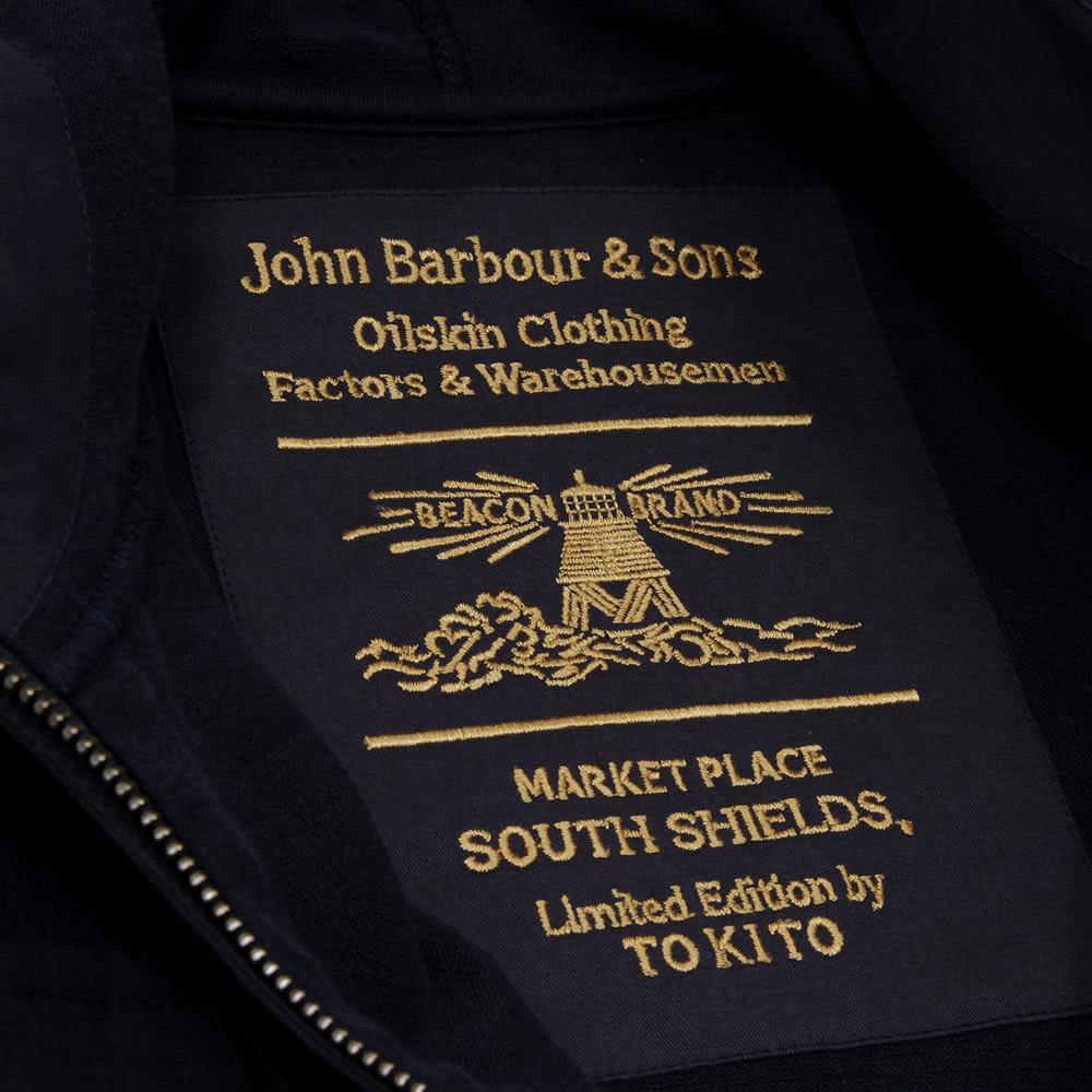 Barbour x Tokihito Yoshida Barton Hoody - Navy