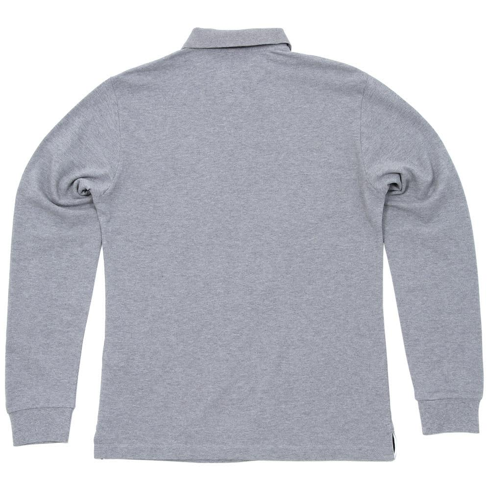 Stone Island Regular Fit Long Sleeved Polo - Grey Marl