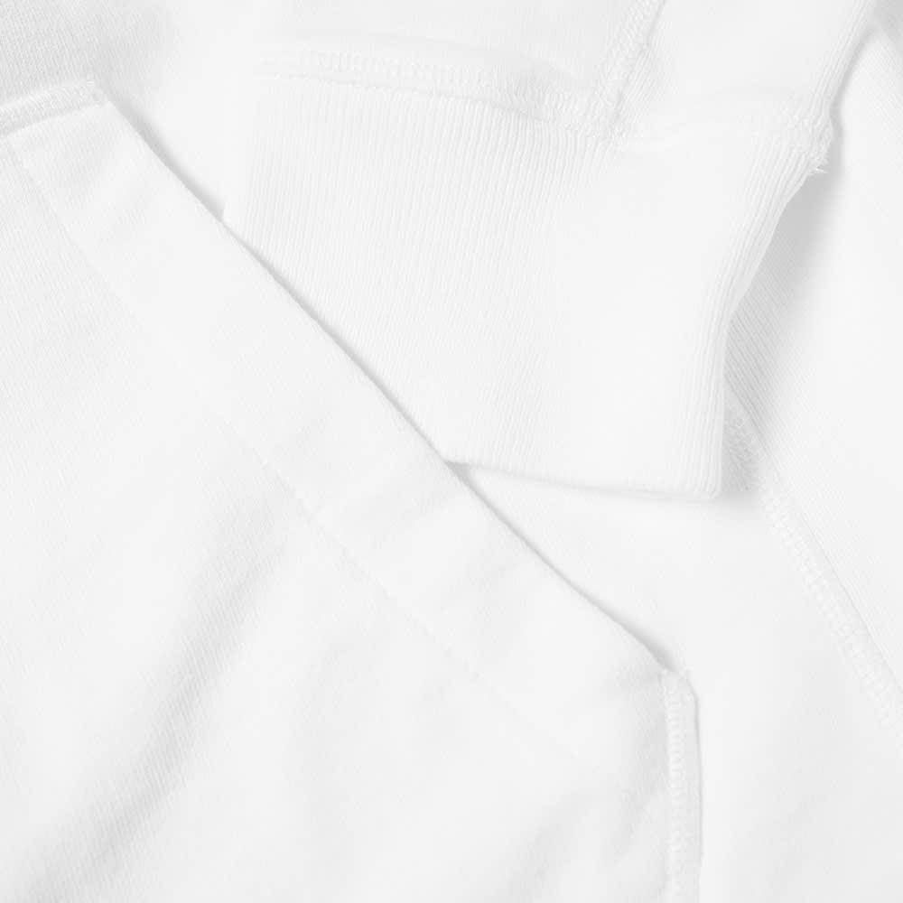 Helmut Lang x Saintwoods Ocean Logo Popover Hoody - White