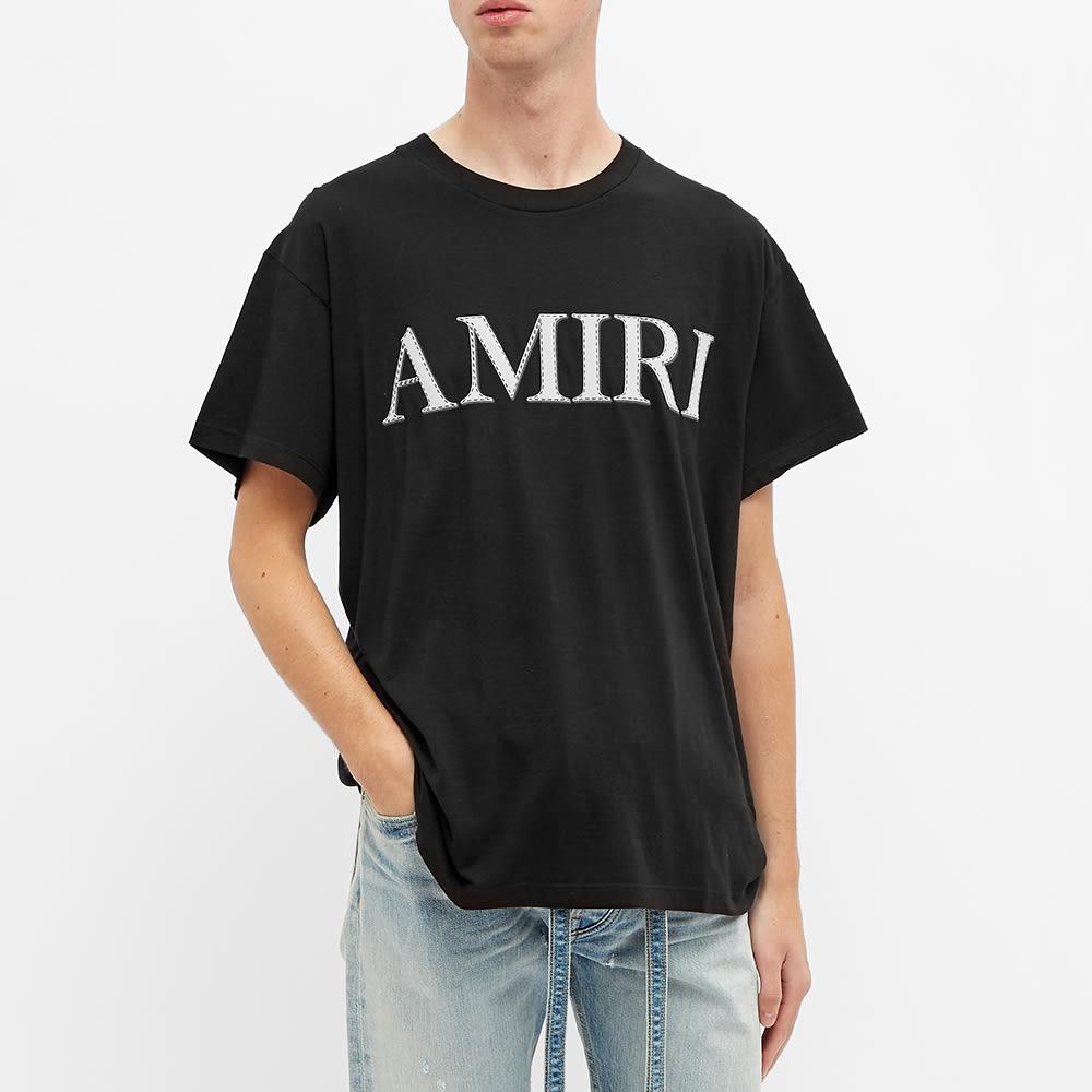 AMIRI Stitch Tee - Black
