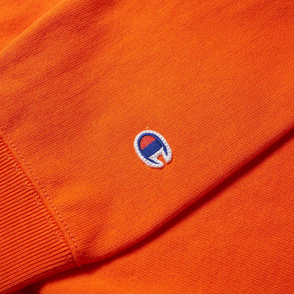 Champion Reverse Weave Classic Crew Sweat - Bright Orange