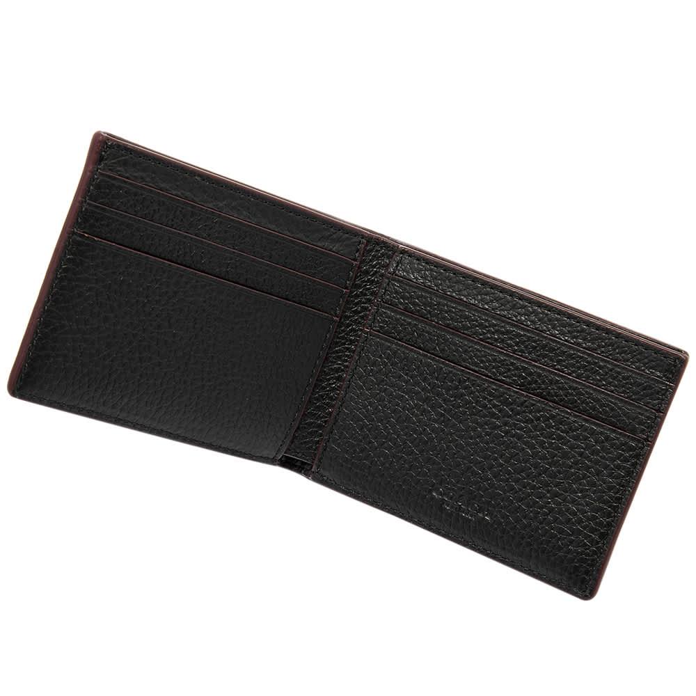 Coach Leather Billfold Wallet - Black