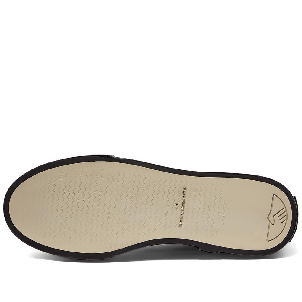 Stepney Workers Club Dellow Canvas Sneaker - Black