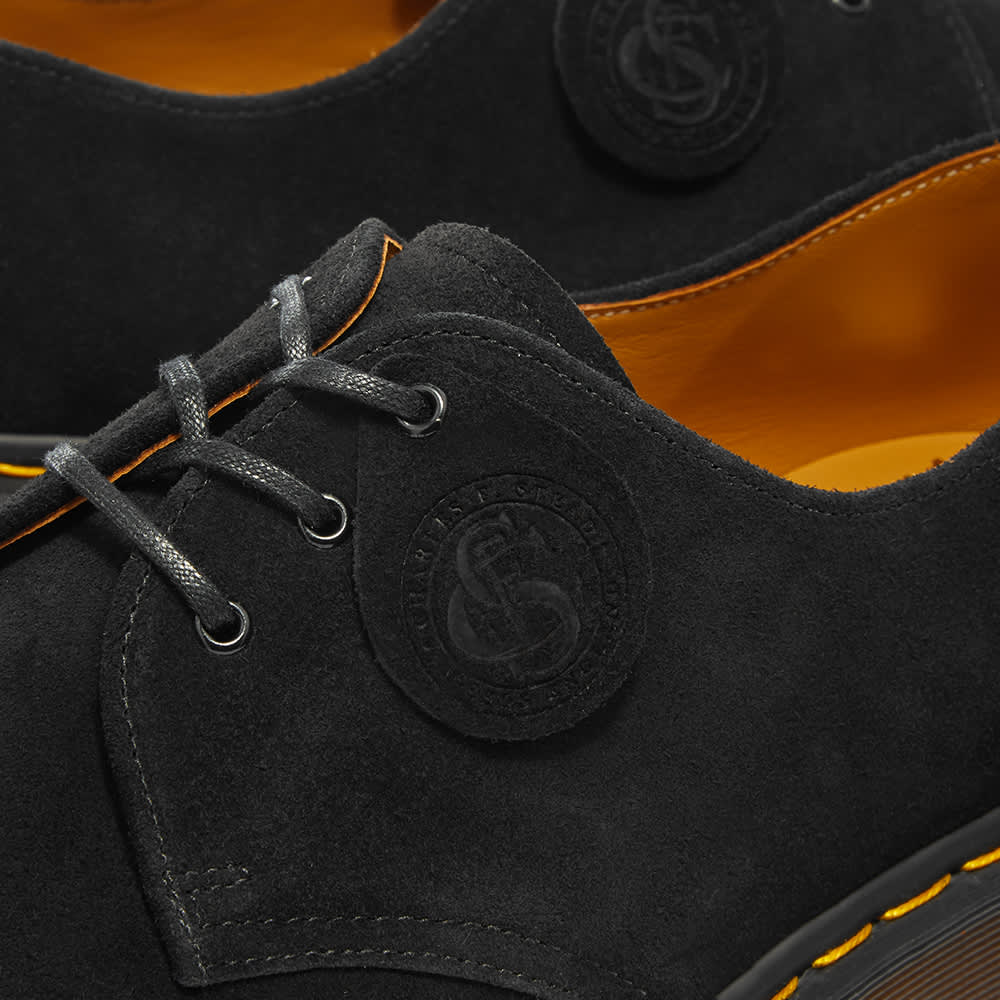 Dr. Martens x C.F. Stead Shoe - Made in England - Black Desert Oasis Suede