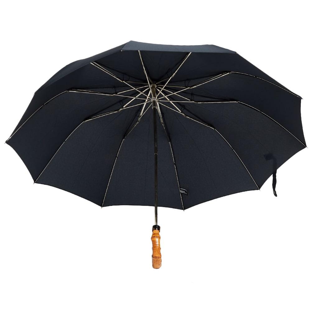 London Undercover Whangee Telescopic Umbrella - Navy