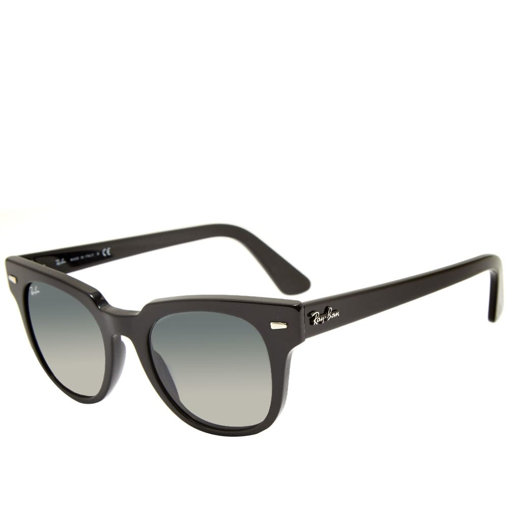 Ray Ban Meteor Classic Sunglasses - Black & Green Classic