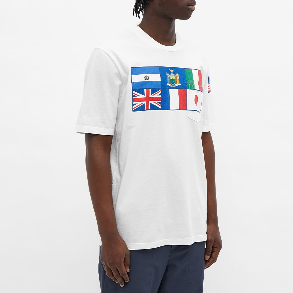 4SDesigns Seven Flags Tee - White