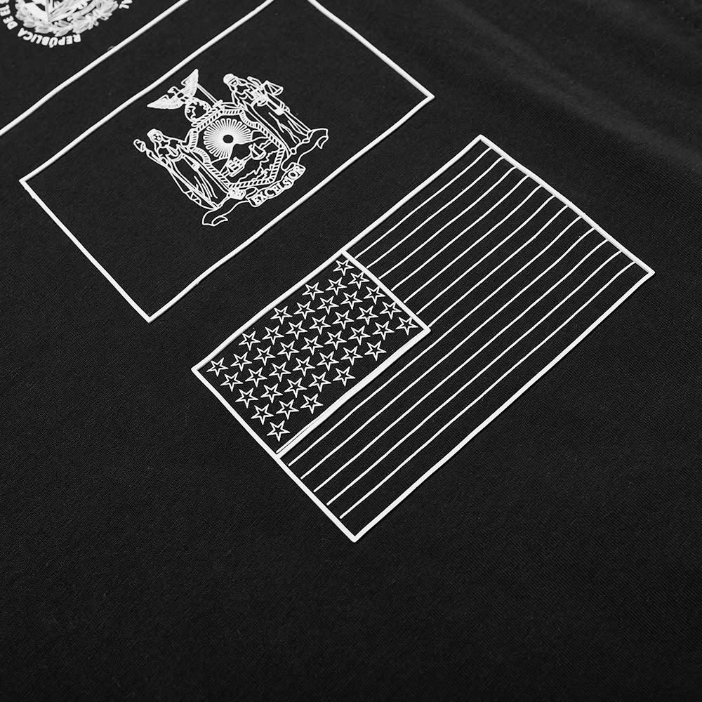 4SDesigns Four Flags Tee - Black