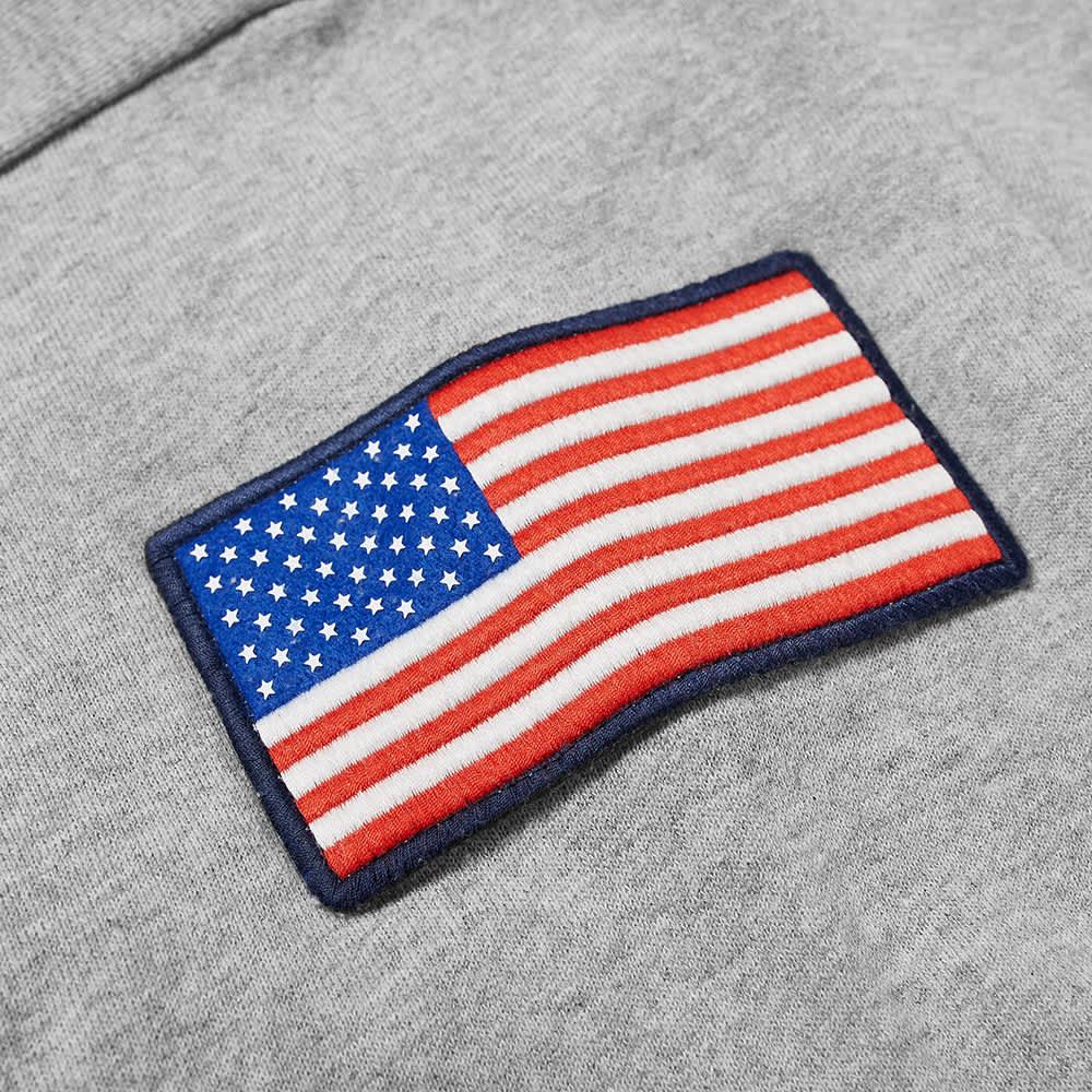 4SDesigns Seven Flags Crew - Grey Melange
