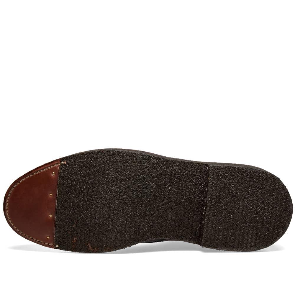 Alden Round Toe Boot - Black Calf
