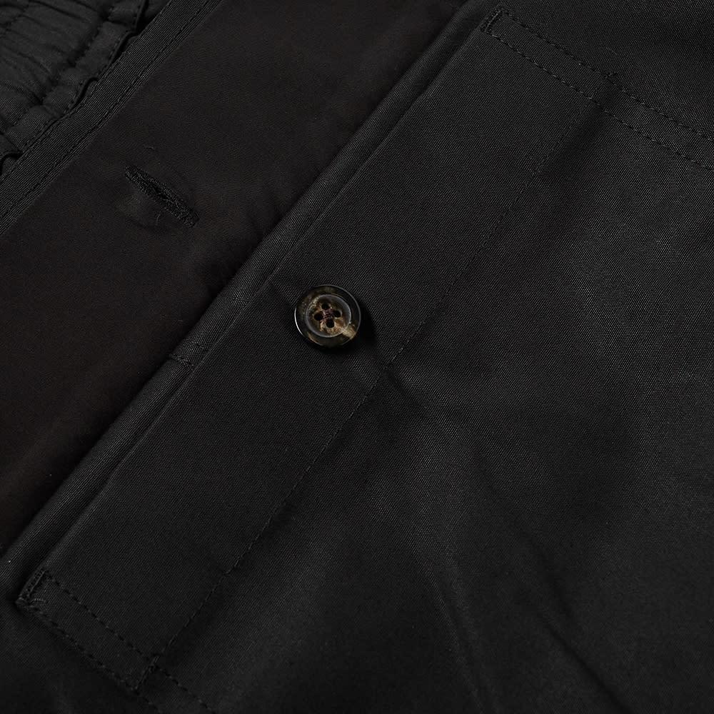 Rick Owens Drawstring Cropped Pant - Black