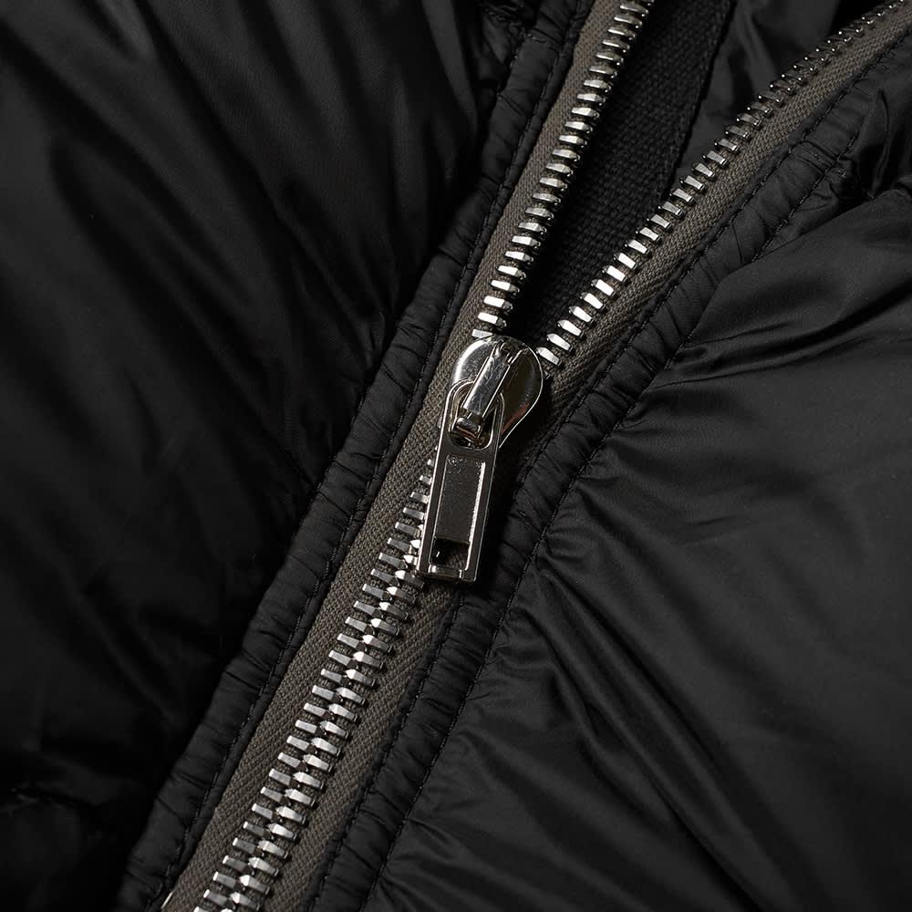 Rick Owens Down Flight Jacket - Black