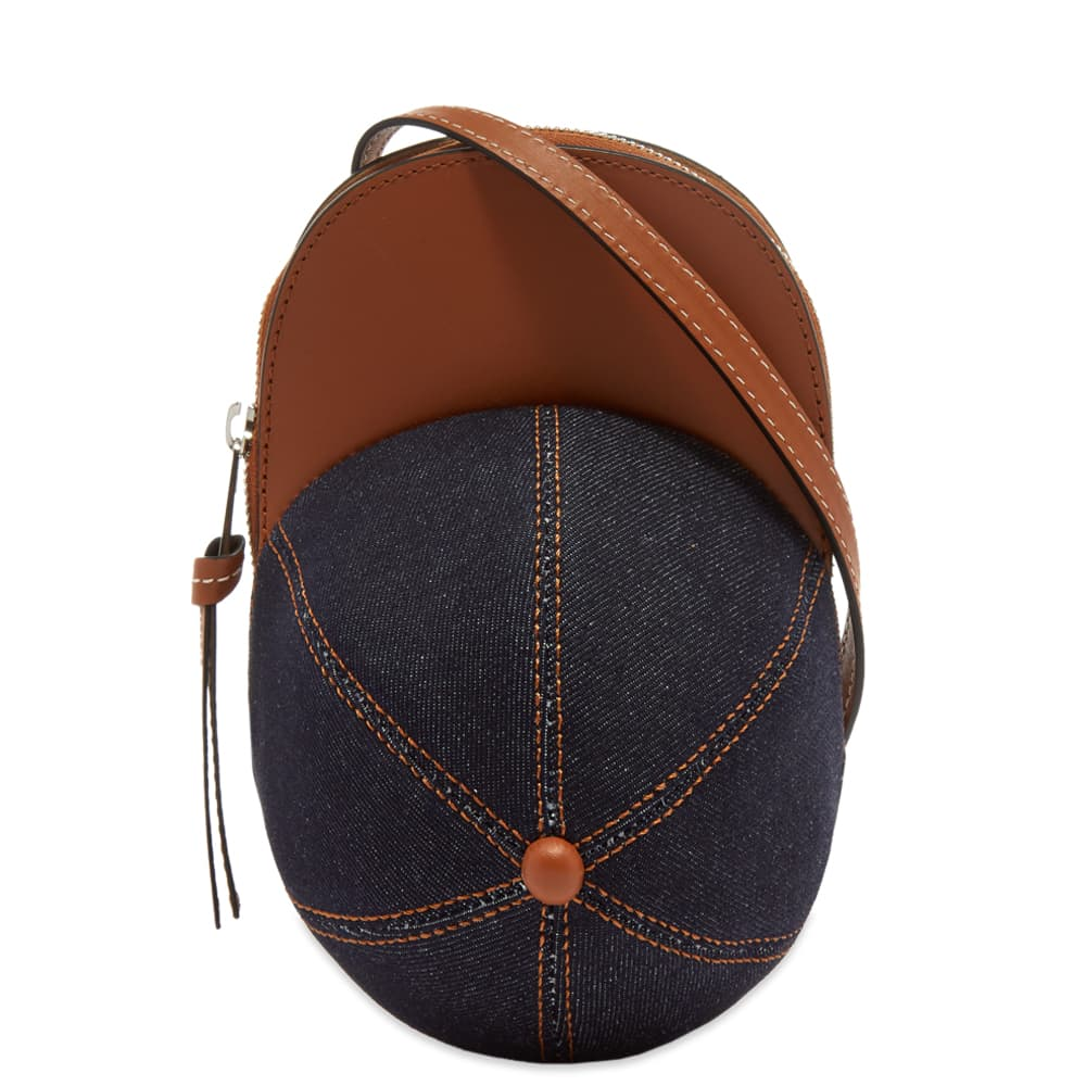JW Anderson Nano Cap Bag - Blue & Pecan