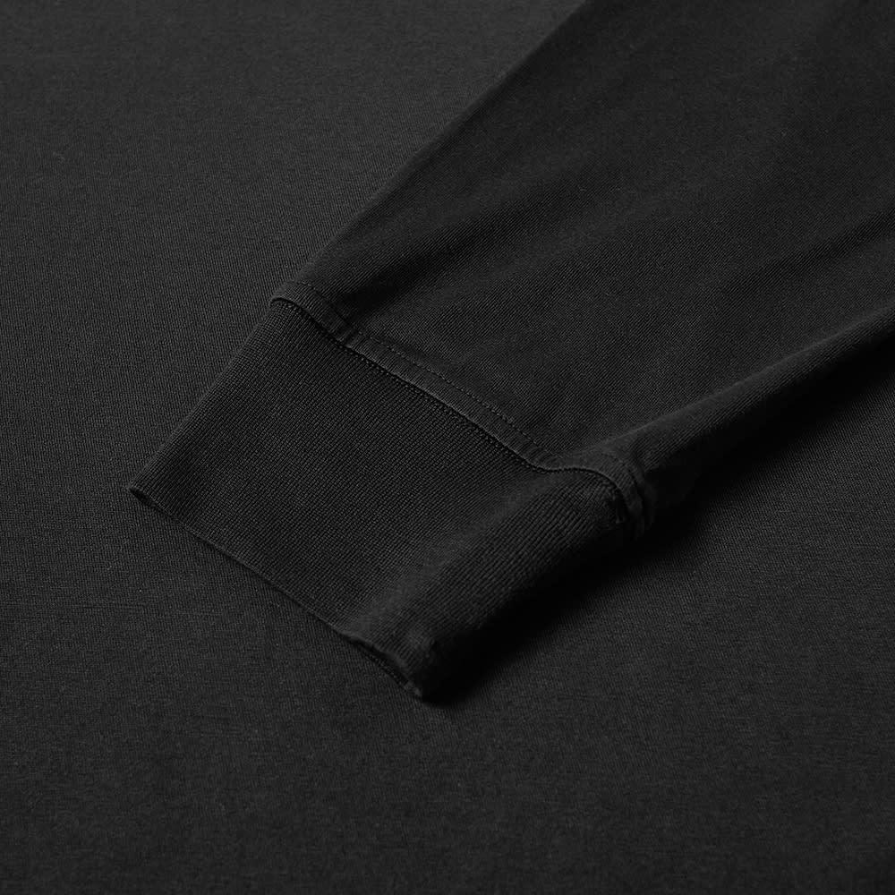 Stone Island Long Sleeve Patch Logo Tee - Black