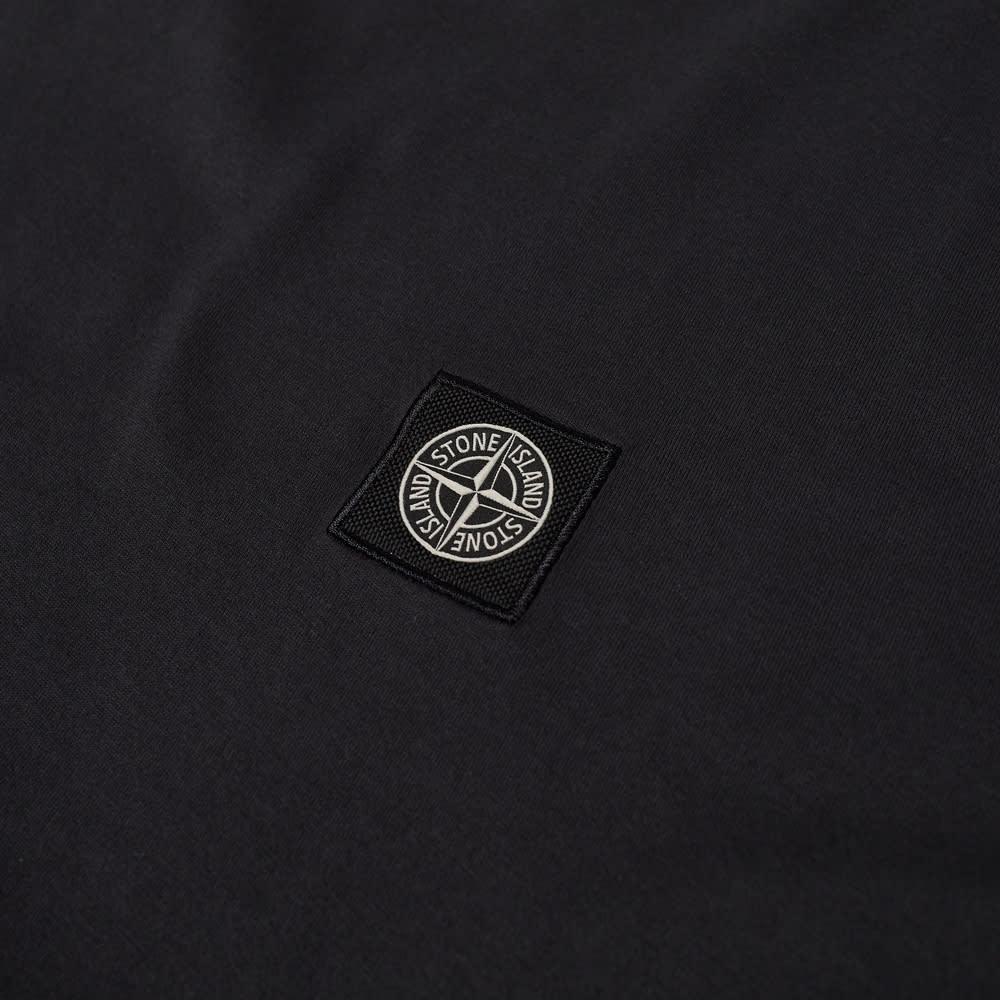 Stone Island Patch Logo Tee - Charcoal