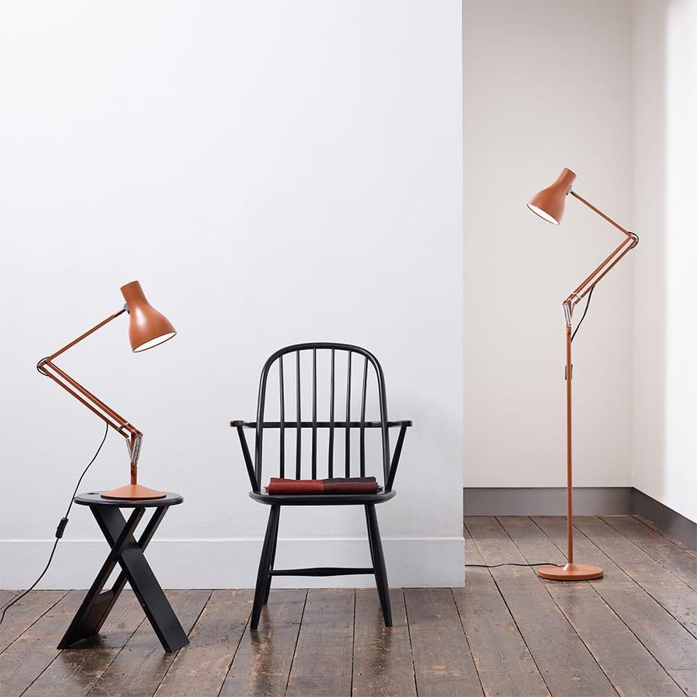 Anglepoise Type 75 Floor Lamp 'Margaret Howell' - Sienna