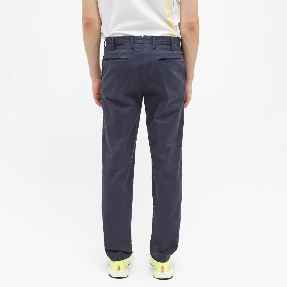Incotex Slim Fit Garment Dyed Chino - Dark Navy
