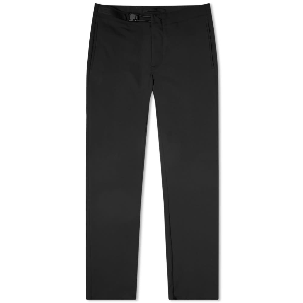 Incotex Magnetic Clasp Travel Pant - Black