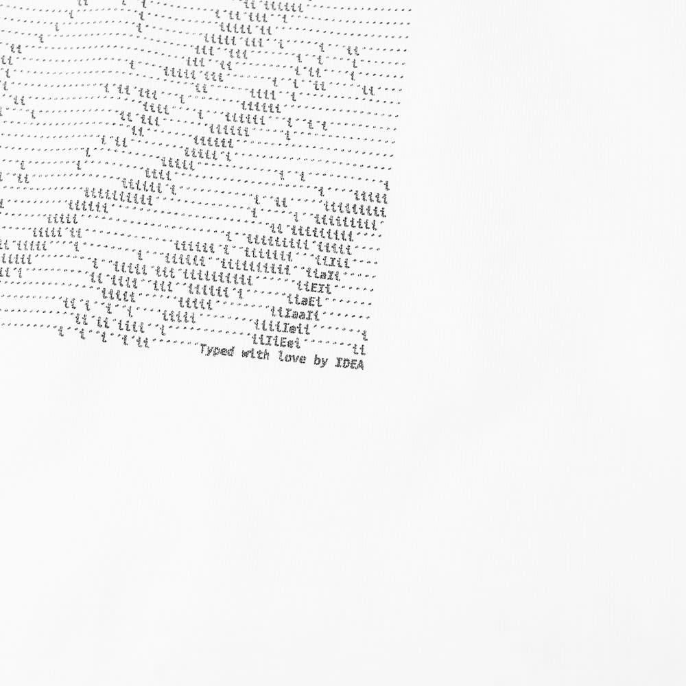 IDEA Keanu Type Art Tee - White