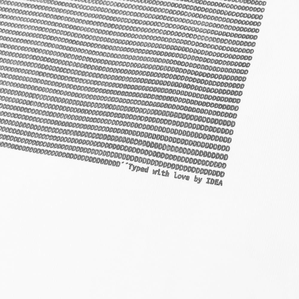 IDEA Winona Type Art Tee - White