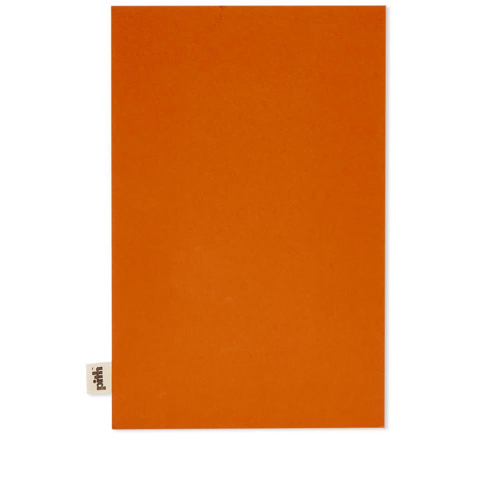 Pith Yuzu Flex Plain Notebook - Medium - Terracotta