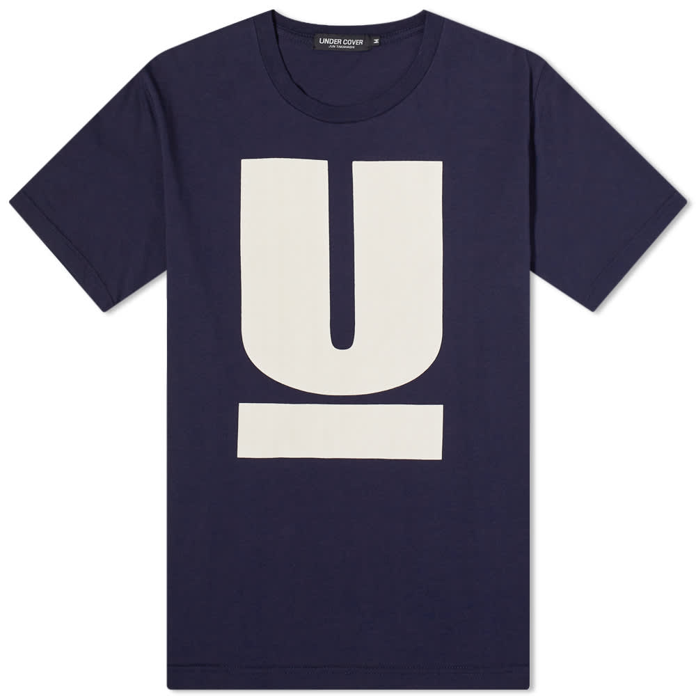Undercover Logo Tee - Navy