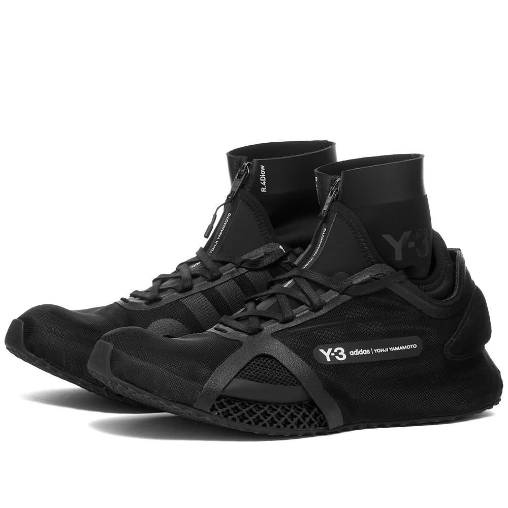 Y-3 Runner 4D IOW - Black & Core White