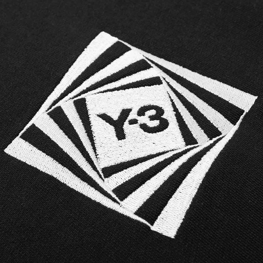 Y-3 Optimistic Illusions Graphic Crew Sweat - Black