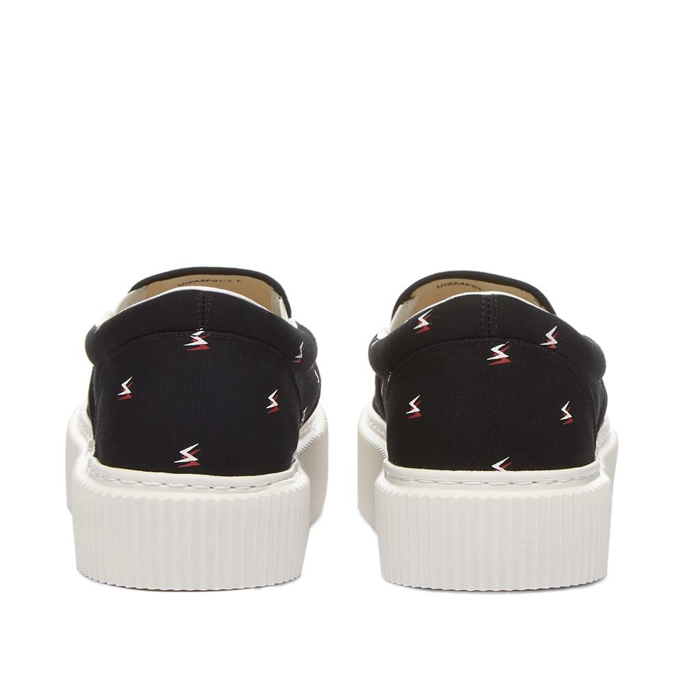 Undercoverism Print Slip On Sneaker - Black