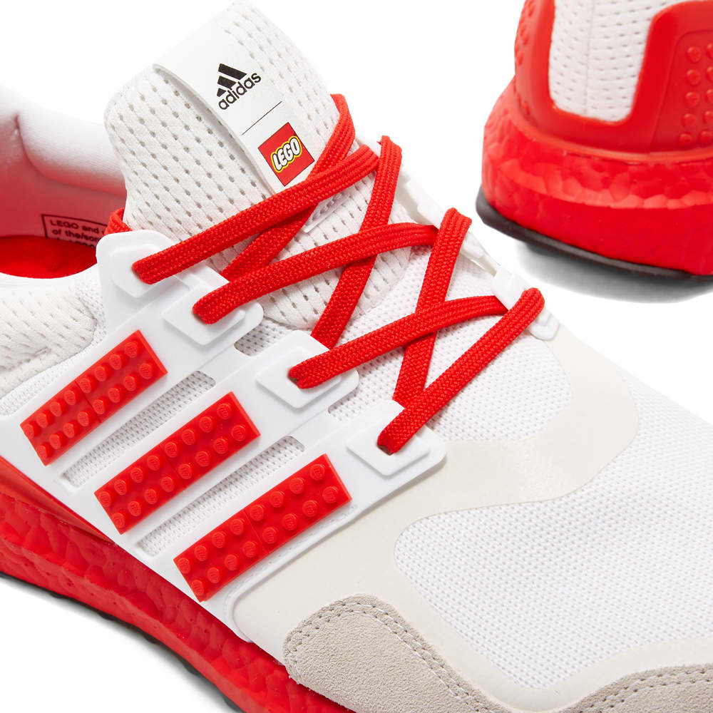 Adidas Ultraboost Dna X Lego - White, Red & Shock Blue