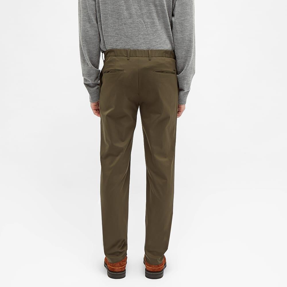 Incotex Elasticated Waist Tech Trouser - Army Green