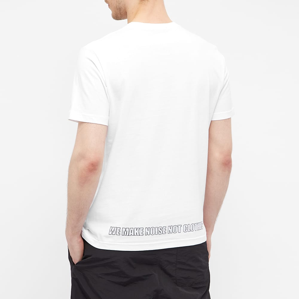 Undercover Small Logo Tee - White