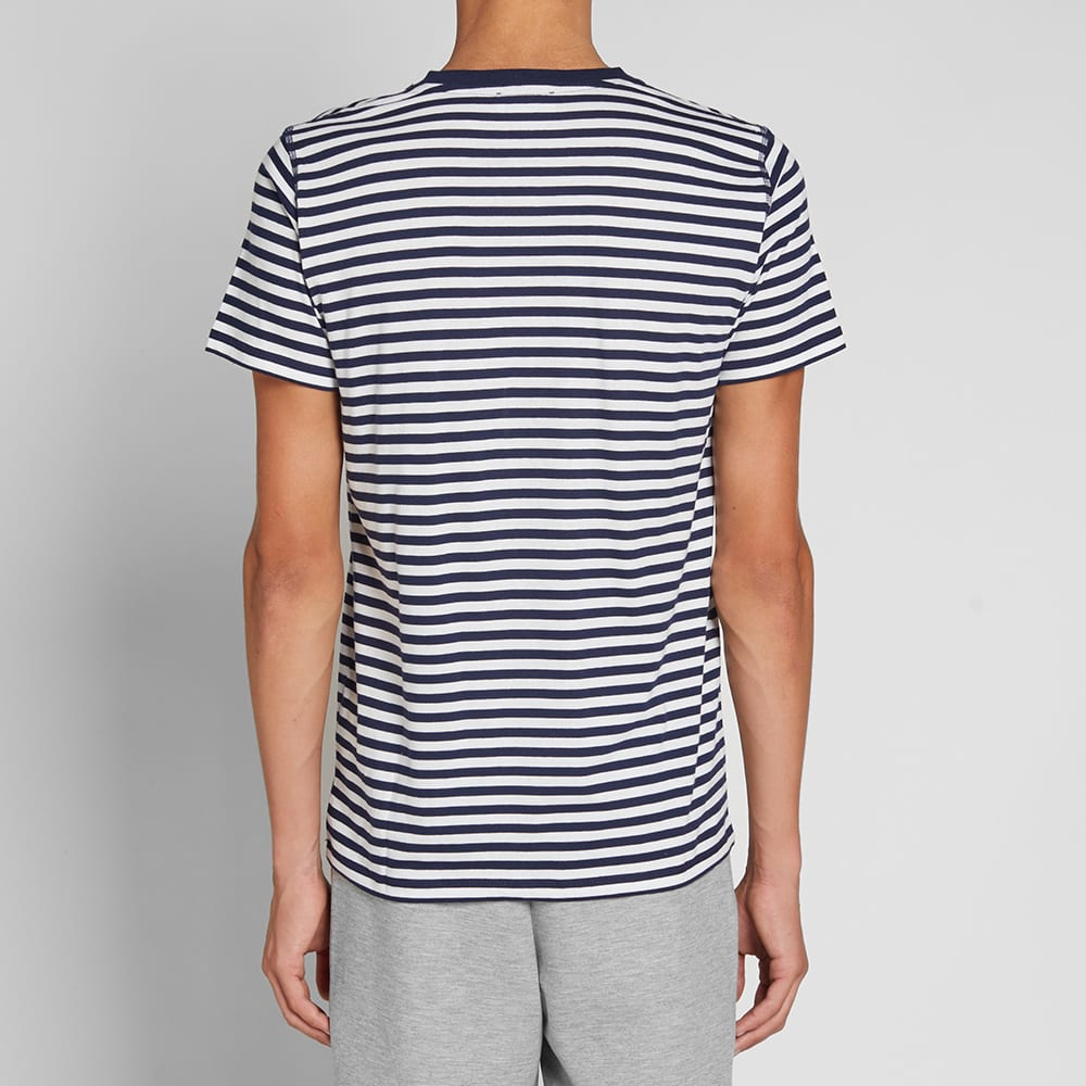 Norse Projects Niels Classic Stripe Tee - Dark Navy