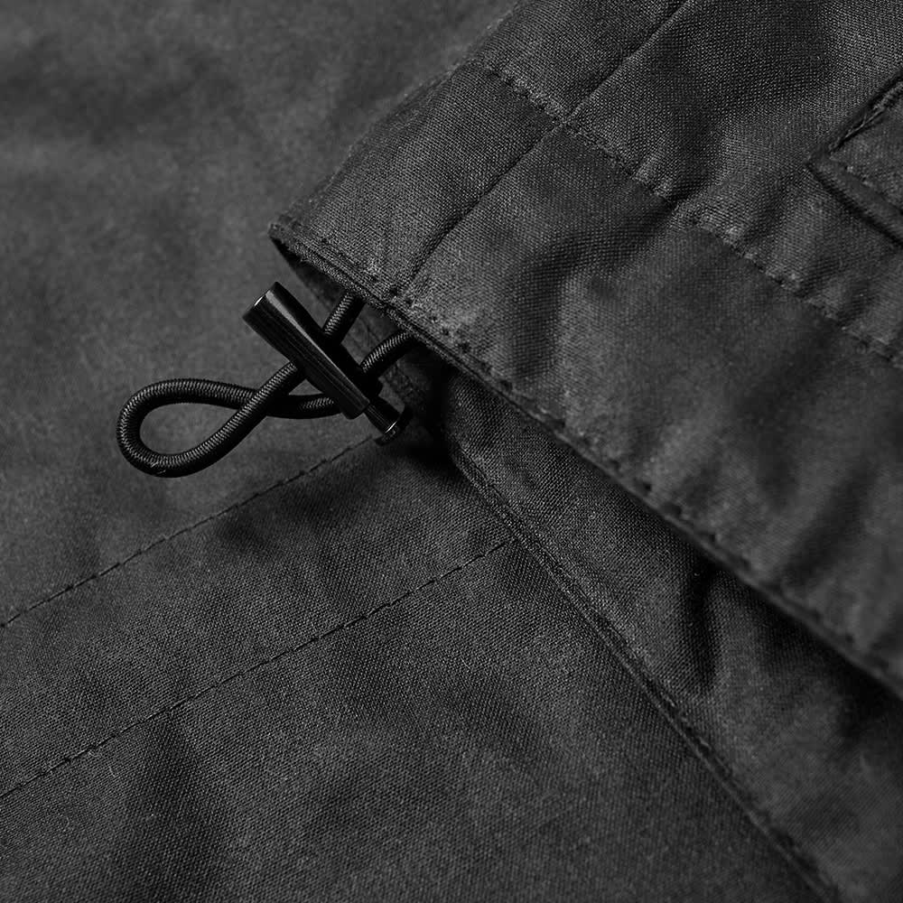 Norse Projects Nunk Waxed Cotton Jacket - Black Watch Check
