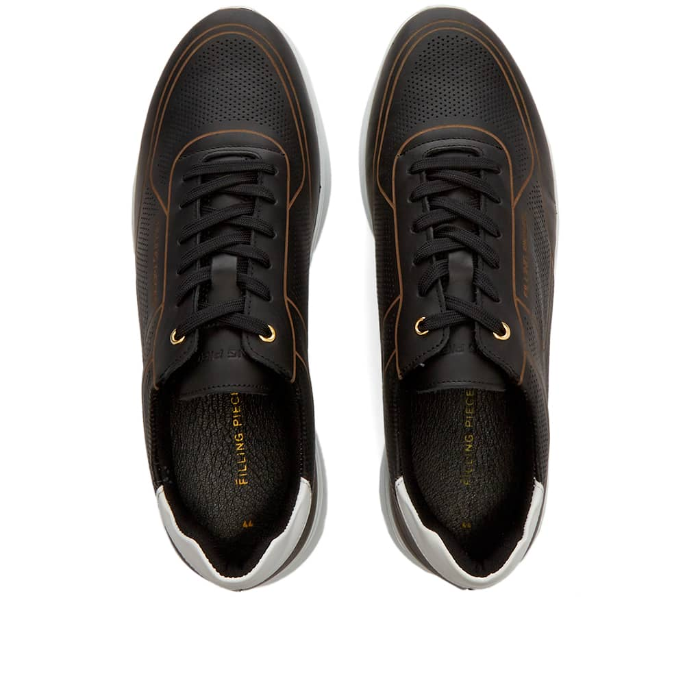 Filling Pieces Moda Jet Dax Sneaker - Black